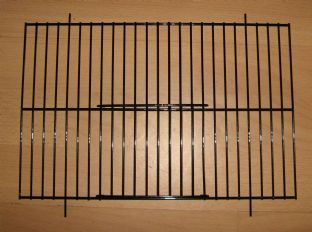 "1 x BLACK UNIVERSAL FINCH / CANARY UNI CAGE FRONTS 12"" x 8"""